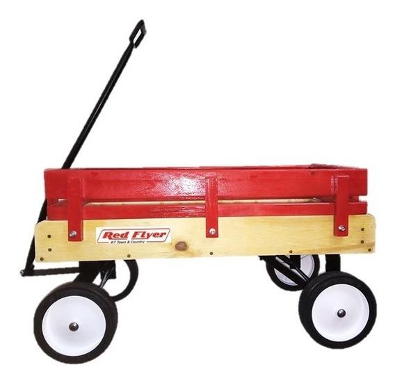 Carrito Infantil Vagon Wagon Tipo Americano Red Flyer