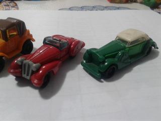 Lote De Autitos Huevo Kinder Antiguos Formula Tractor Jeep