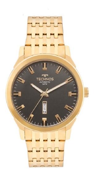 Relógio Technos Masculino Automatico 8205of/4p Dourado