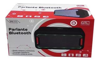 Parlante Bluetooth Gtc Spg-111 Con Led