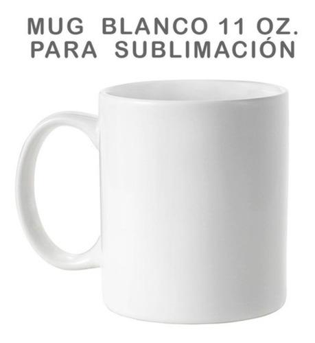36 Mug Blanco Para Sublimar