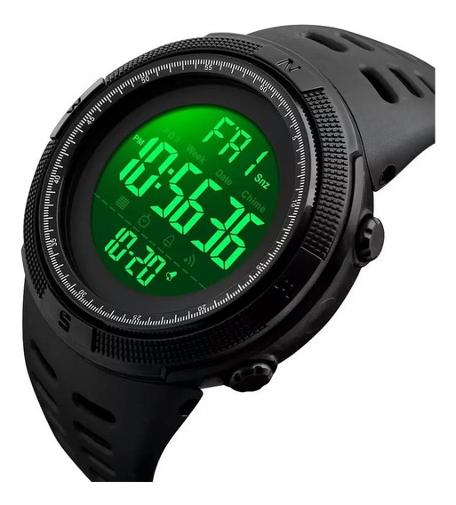 Relógio Masculino Skmei Digital Original Led Prova Agua 1251