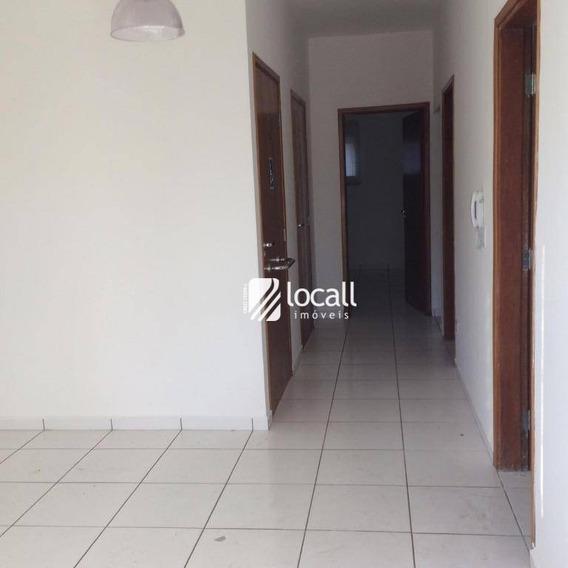 Casa Para Alugar, 80 M² Por R$ 2.000/mês - Vila Aurora - São José Do Rio Preto/sp - Ca2074