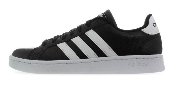 Tenis adidas Grand Court - F36393 - Negro - Hombre