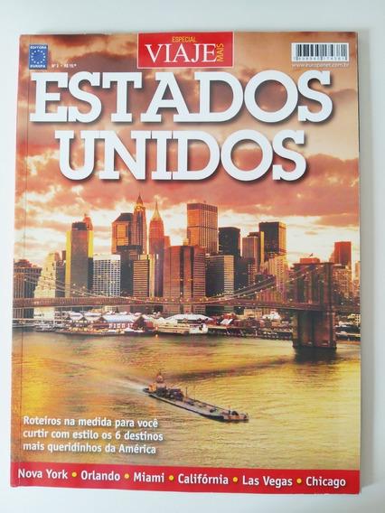 Revista Viaje Mais Edição Especial Estados Unidos Nº 02
