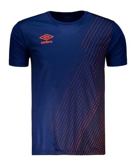 Camiseta Umbro Twr Graphic Pro Velocita Marinho