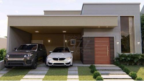 Maravilhosa Casa Térrea No Real Park, Em Sumaré. - Ca4508