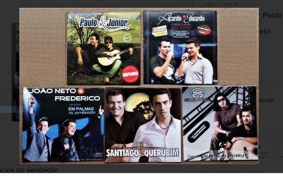 Cd Paulo E Junior + Ricardo E Eduardo + João Neto + Santiago