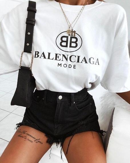 Camiseta Feminina Balenciaga Tumbrl T-shirts