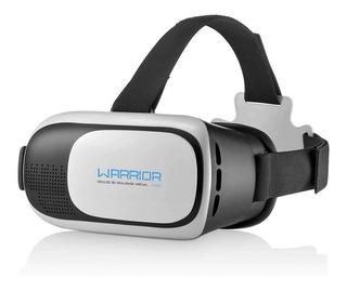 Óculos Vr Glaas 3d Para Celular Gamer - Warrior Multilaser