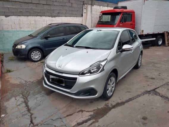Peugeot 208 1.2 Active Flex 2018 Financia 100% Sem Entrada