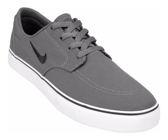 Zapatillas Nike Clutch Gris + Negro - Originales