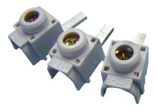 Conector Para Disjuntor Din Genérico 25mm Frontal Com 10pç