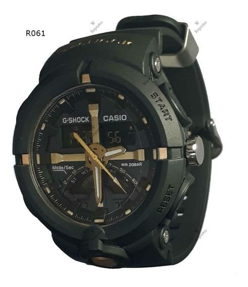 Relógio Masculino Resistente A Shock E Agua, Frete Grátis