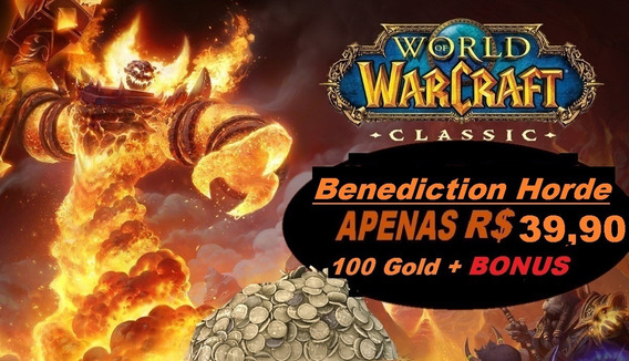 Wow Classic Gold - Benediction - Horde 8000g (8k)