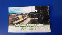 Cabañas Campo Mar Doña Inés