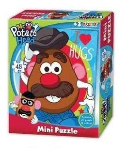 Minipuzzle 16x20cm Mr Potato Head Kreker 2025