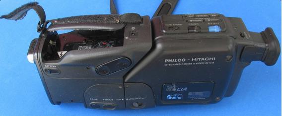 Filmadora Câmera E Vídeo Phico - Hitachi Vm - C1a Vhs C