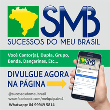 Divulgação De Artistas Na Página Sucessos Do Meu Brasil