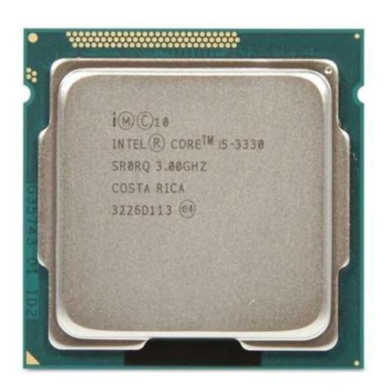 Processador gamer Intel Core i5-3330 BX80637I53330 de 4 núcleos e 3.2GHz de frequência com gráfica integrada