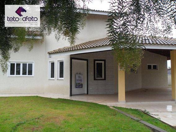 Casa Residencial À Venda, Condomínio Fechado, Atibaia - Ca1649. - Ca1649