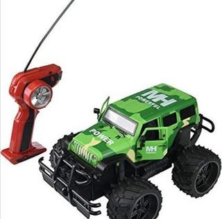 Jeep Control Remoto 4x4 Con Botón De Luces Abre Y Puertas
