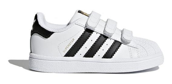 Zapatillas adidas Originals Moda Superstar Cf I Bebe Bl/ng