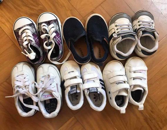 Lote 6 Calçados Infantis Tam 20