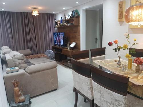 Apartamento Com 2 Dormitórios À Venda, 50 M² Por R$ 249.000,00 - Jardim Pedra Branca - São Paulo/sp - Ap10008