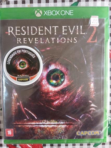 Resident Evil Revelations 2 Xbox One Midia Fisica Lacrado