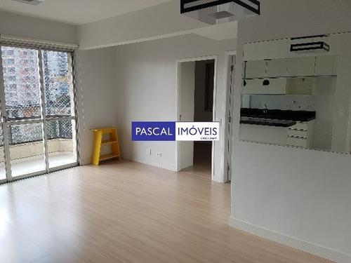 Imagem 1 de 15 de Apartamento Campo Belo 02 Dormitorios 01 Vaga - V-5355