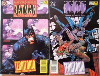 Batman Territorios Completo Zinco