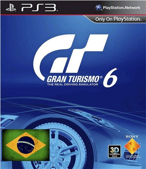 Gran Turismo 6 Portugues Ps3 Psn Envio Rapido