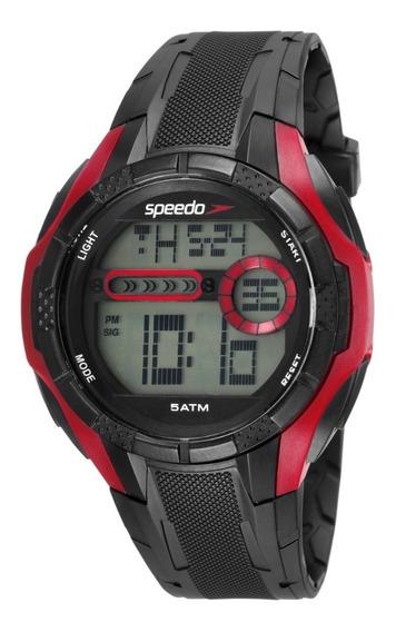 Relógio Masculino Speedo Digital Esportivo Prova D´água Nf