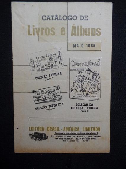 Ebal - Catálogo De Livros E Álbuns - Maio De 1965