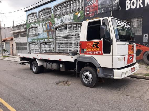 Guincho Plataforma Ford Cargo 815 Vw Cumins Mwm Delivery Mb