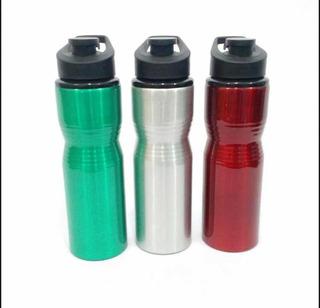 Kit Squeeze Garrafa Alumínio 750 Ml 60 Und