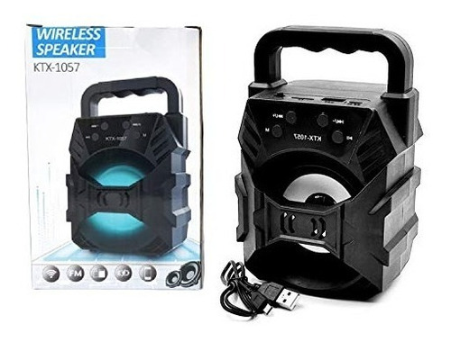 Parlante Inalámbrico Bluetooth Usb Sd Radio Fm Ktx-1057