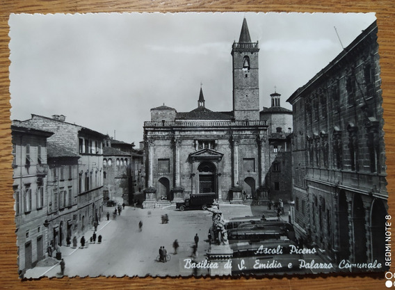 Antigua Postal De Ascoli - Italia Sin Circular