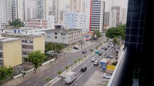 Flat Para Alugar Com 02 Quartos Em Boa Viagem, Recife - Fl0003