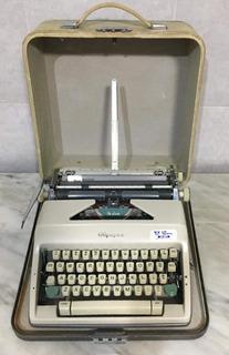 Vintage Letra Molde - Maquina De Escribir Hecha En Alemania