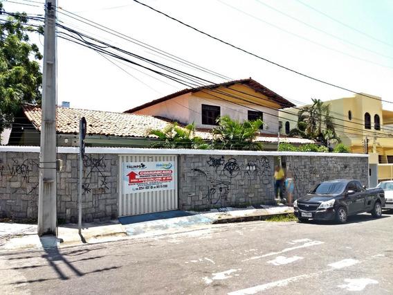 Aluguel Casa 5 Quartos, A Poucos Metros Da Av. Aguanambi