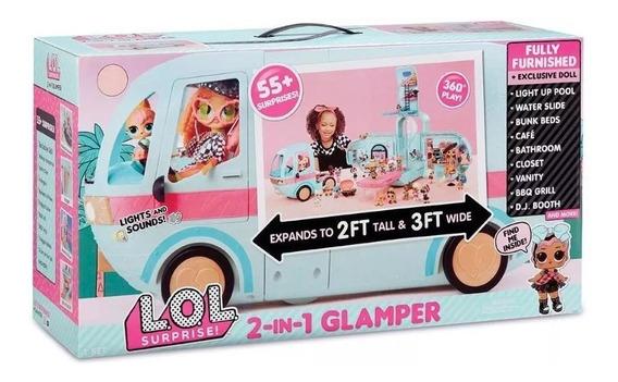 L.o.l. Veiculo Surprise Glamper Pronta Entrega Envio Imediat