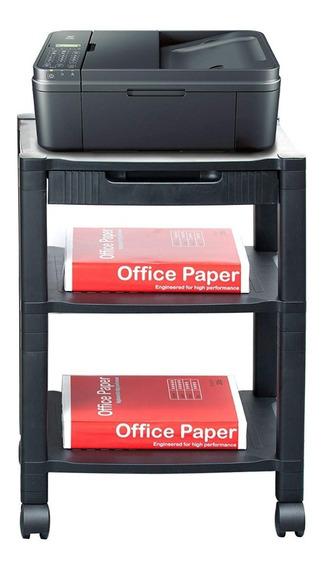 Repisa Mueble Impresora Carrito Mobiliario Oficina Ruedas M3