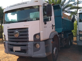 Caminhão Vw 31320 6x4 C/ Basc. 12 Mts³ 124.000 Km Ano 2010