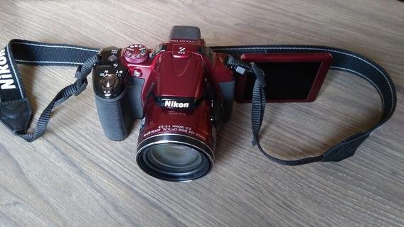 Câmera Semi-profissional Nikon Coolpix P520 18.1 Mp/42x Zoom