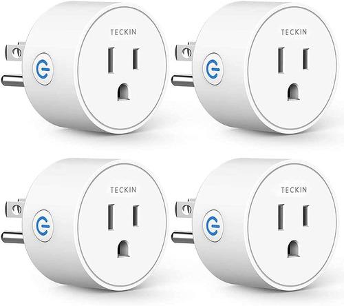 Imagen 1 de 7 de Enchufes Tomas Wifi Inteligente Soporta Alexa Y Google Home