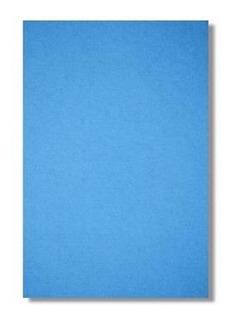 100fl Papel Sublimatico Fundo Azul A4