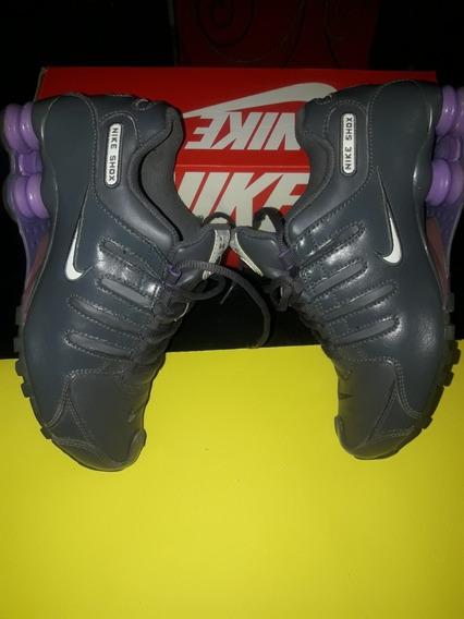 Zapatillas Nike Shox Mujer Talle 36 Buen Estado