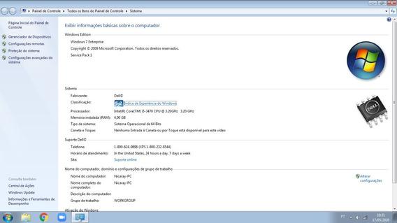 Desktop Dell I5 - Windows 7